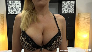 seduces customer real estate lady Hannah montanasaline solutions injection into breast
