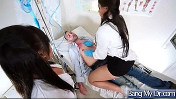 vid sex hard doctors 08 nurses and pacients get with Spit swap sara jay