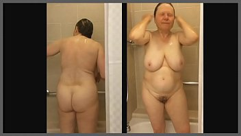 mom shower bbw in Anal middle aged women
