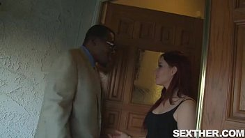 chick european sophia hair red wild Rough threesome where the bitch gets her ass fucke